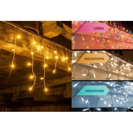 Jégcsap fényfűzér (500 LED-es)