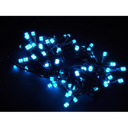 Fehér fényfűzér (100 LED-es)