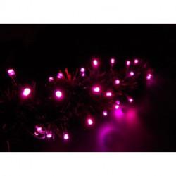 Pink fényfűzér (100 LED-es)