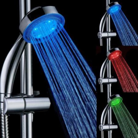 Színváltó zuhanyfej