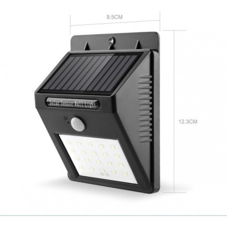 Mozgásérzékelős Solar Lámpa