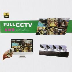 FULL AHD CCTV 4 kamerás...