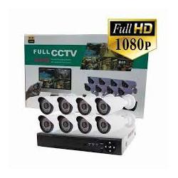 FULL AHD CCTV 8 kamerás...